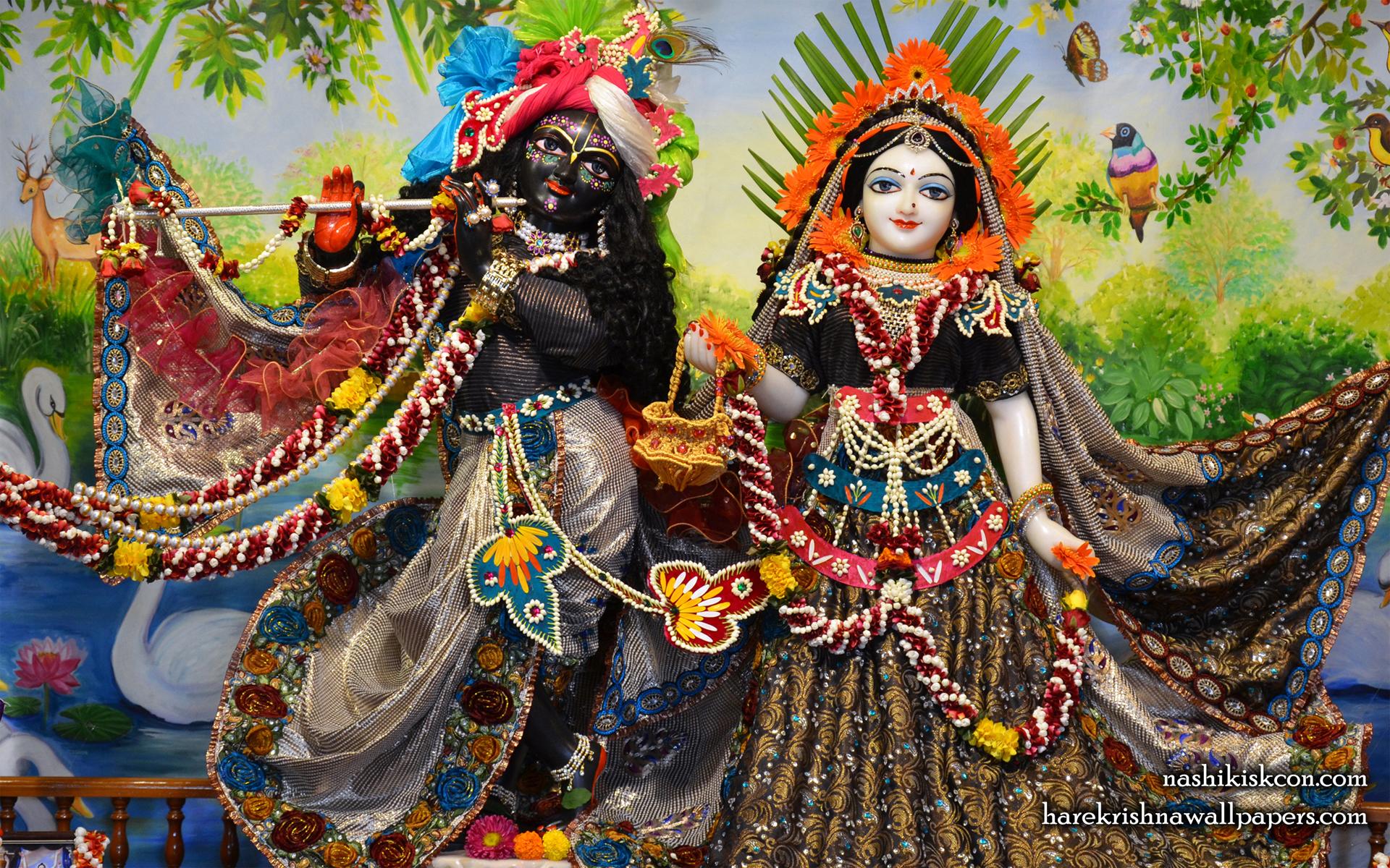 Sri Sri Radha Madan Gopal Wallpaper (005) Size 1920x1200 Download