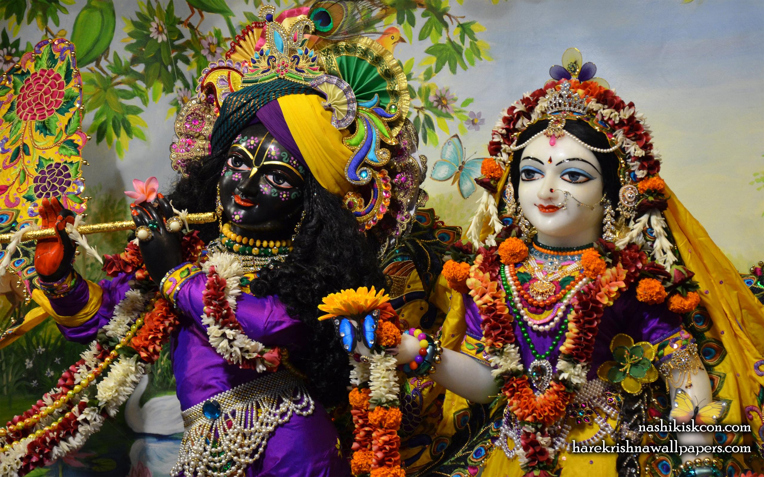 Sri Sri Radha Madan Gopal Close up Wallpaper (006) Size 2560x1600 Download