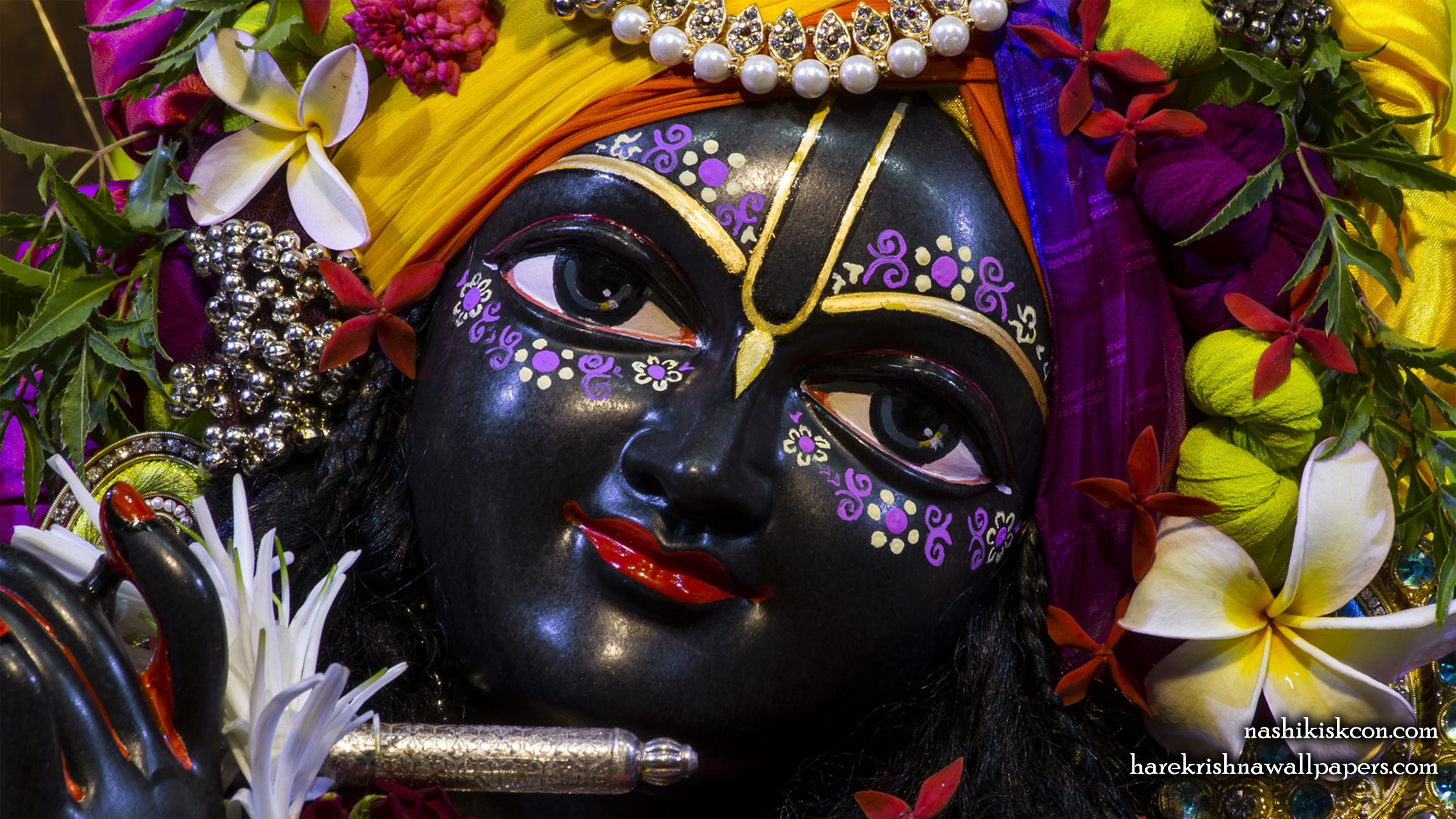 Sri Madan Gopal Close up Wallpaper (007) Size 2400x1350 Download