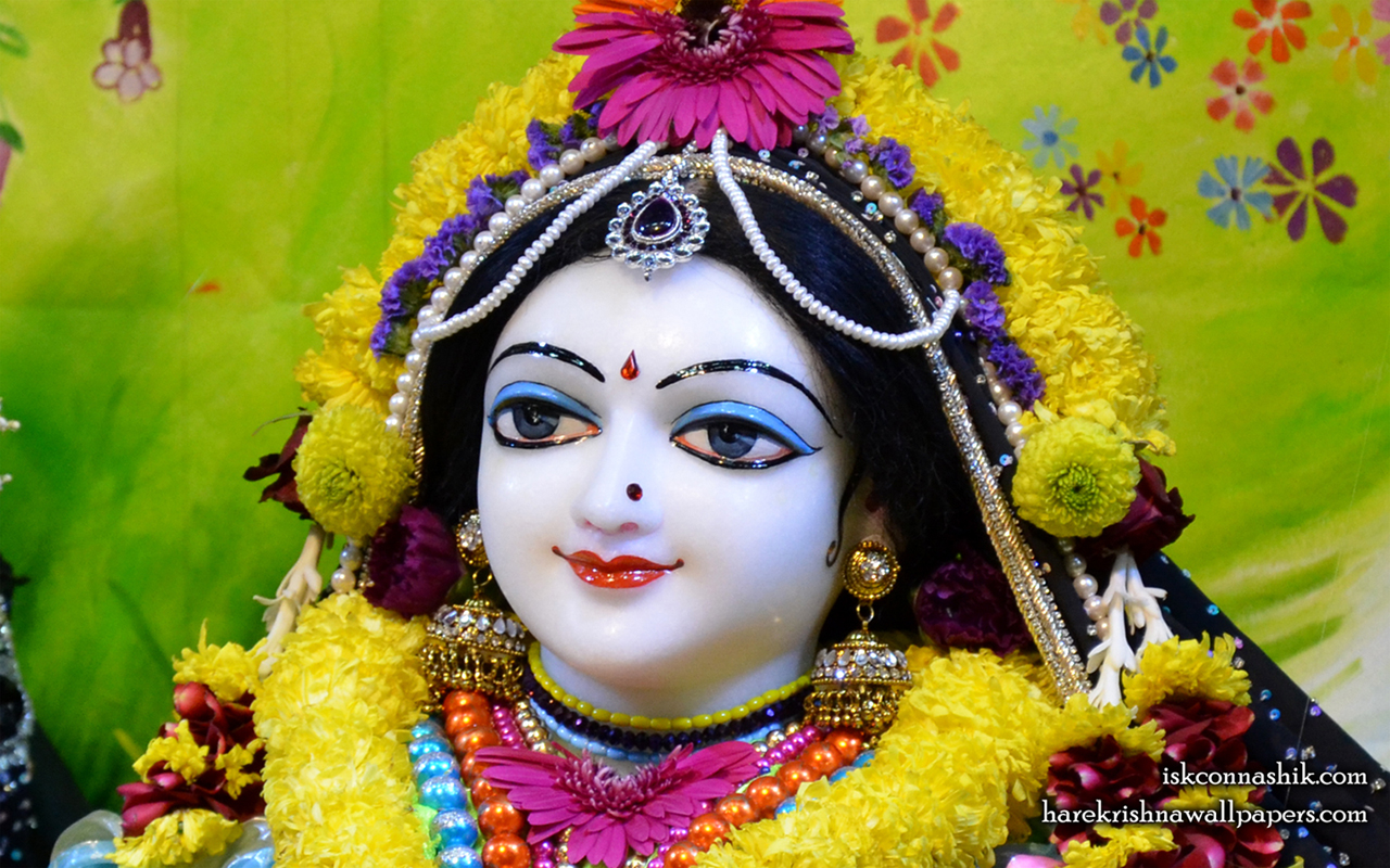 Sri Radha Close up Wallpaper (007) Size 1280x800 Download