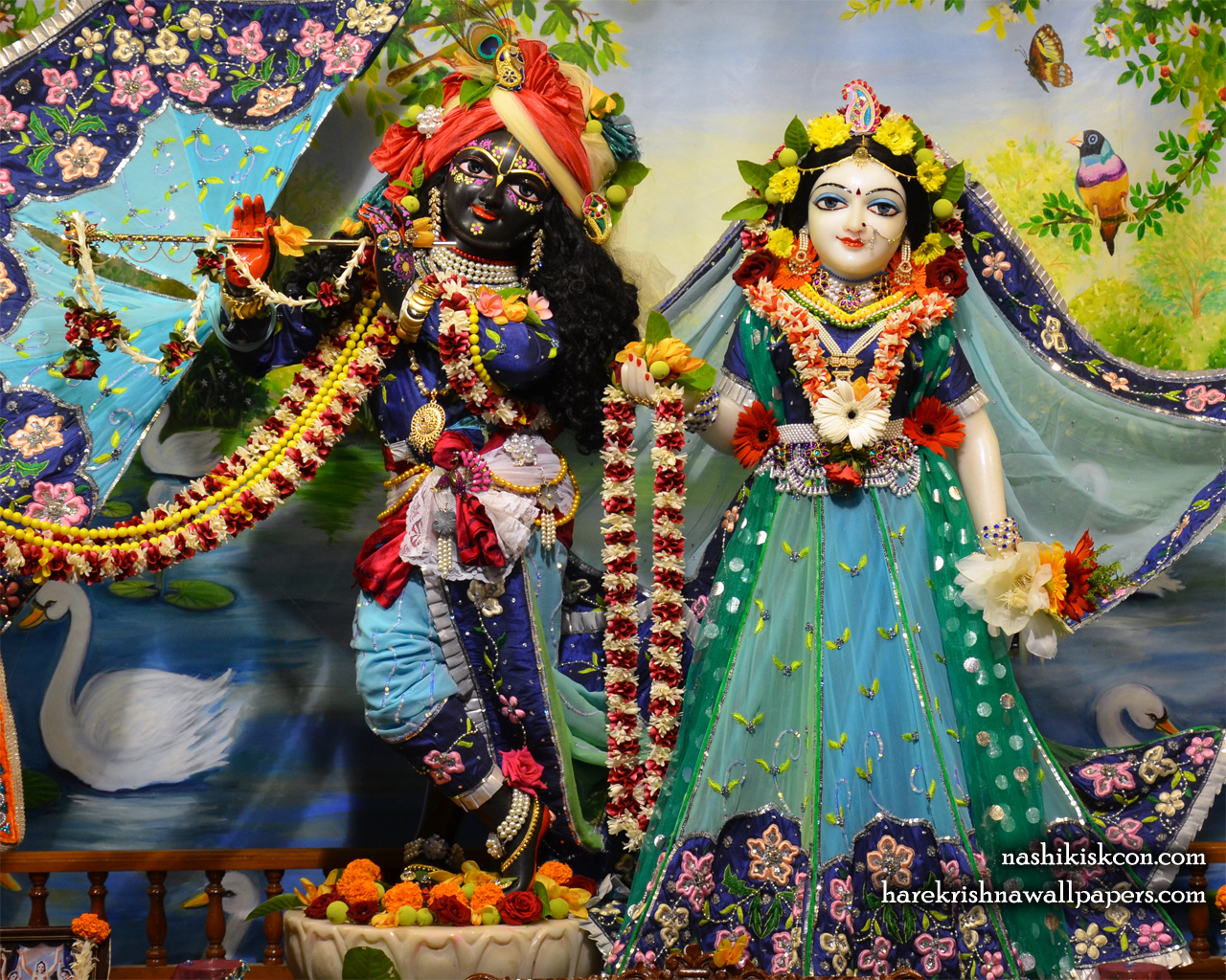 Sri Sri Radha Madan Gopal Wallpaper (007) Size 1280x1024 Download