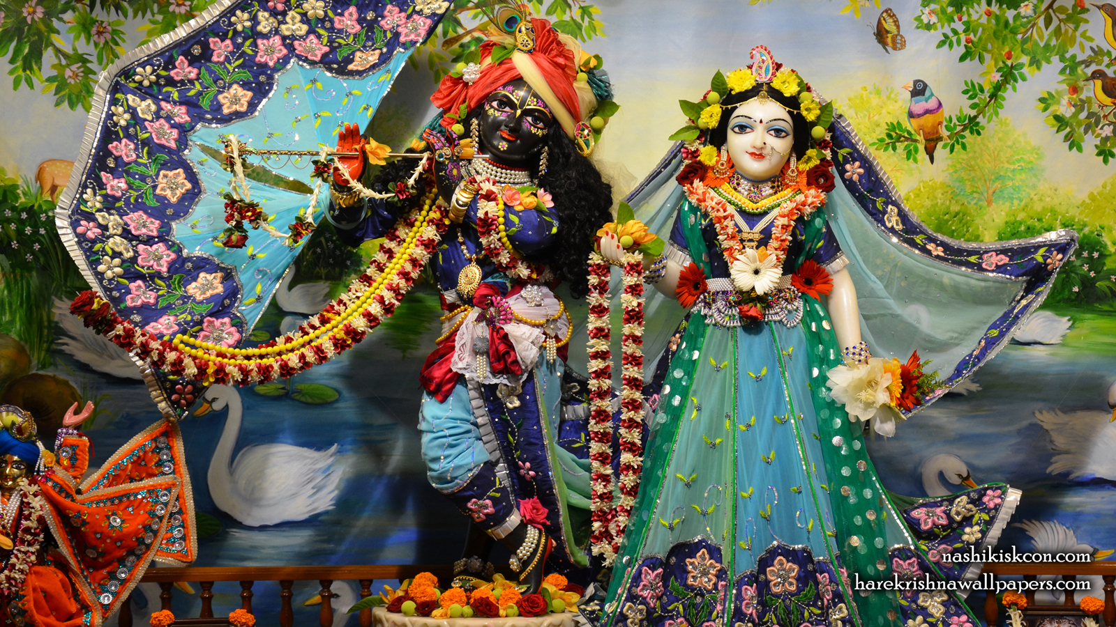 Sri Sri Radha Madan Gopal Wallpaper (007) Size 1600x900 Download
