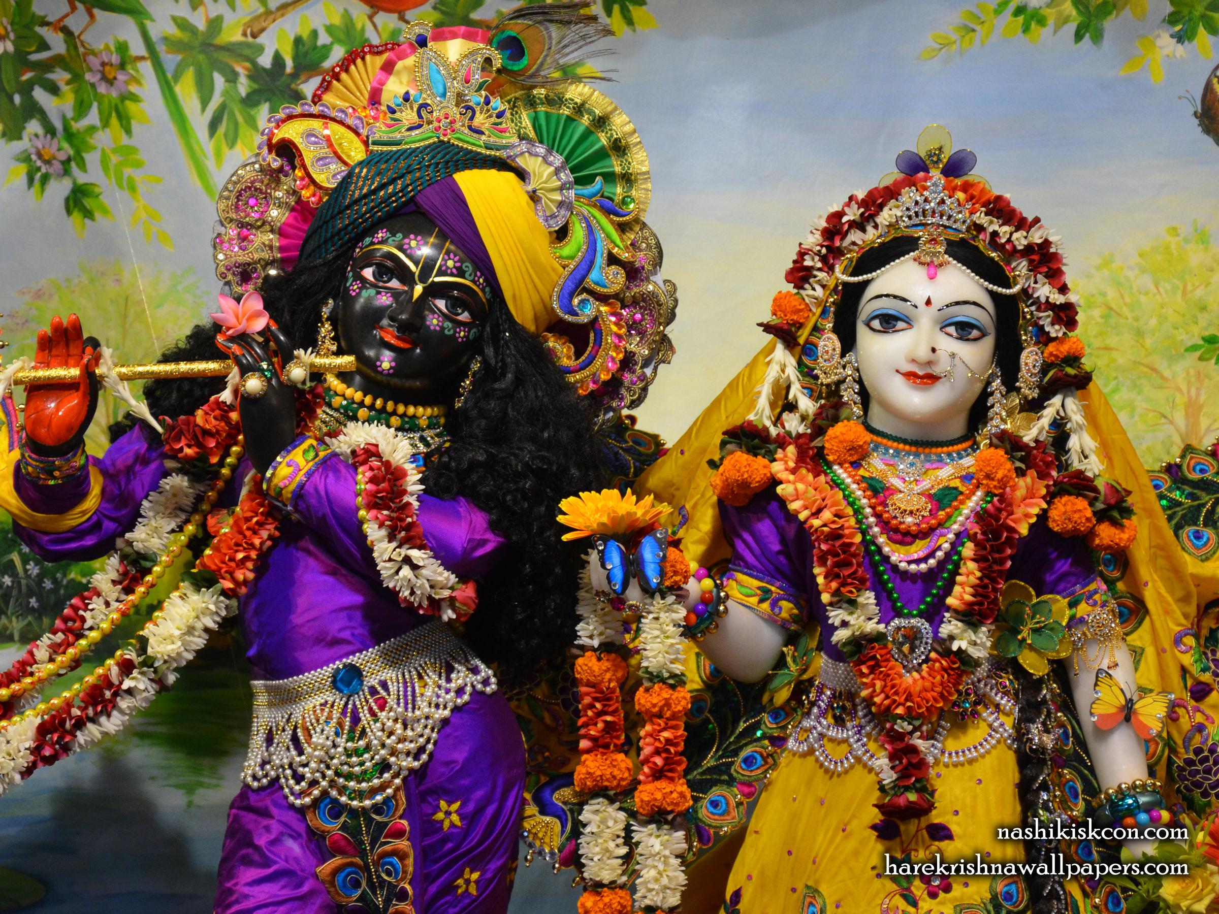 Sri Sri Radha Madan Gopal Close up Wallpaper (007) Size 2400x1800 Download