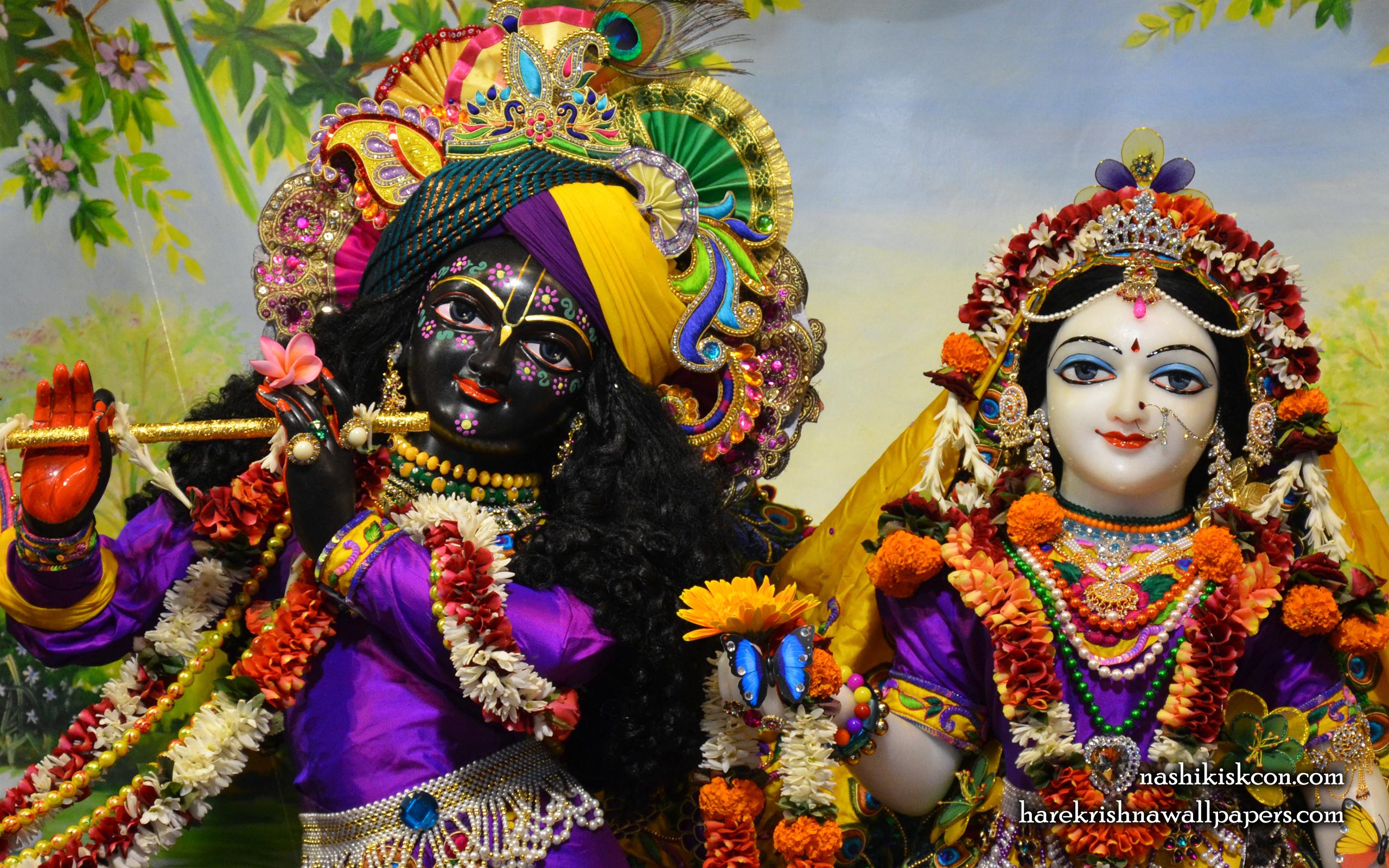 Sri Sri Radha Madan Gopal Close up Wallpaper (007) Size 2560x1600 Download
