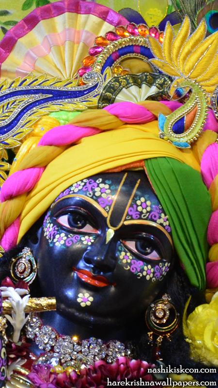 Sri Madan Gopal Close up Wallpaper (008) Size 450x800 Download