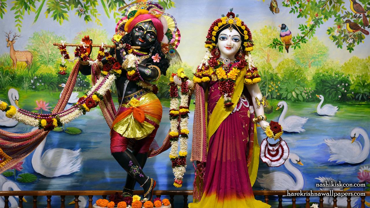 Sri Sri Radha Madan Gopal Wallpaper (008) Size1280x720 Download
