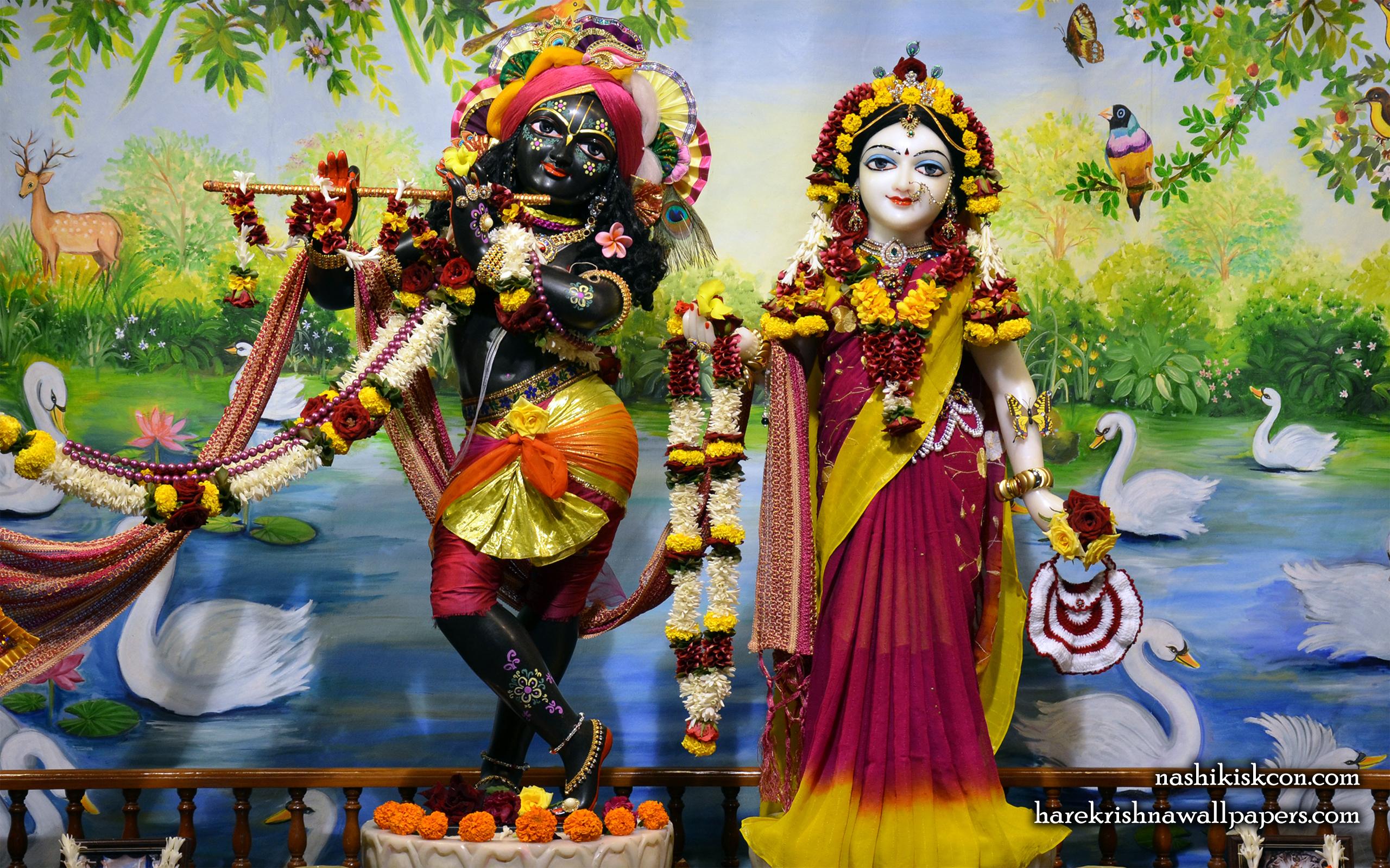 Sri Sri Radha Madan Gopal Wallpaper (008) Size 2560x1600 Download
