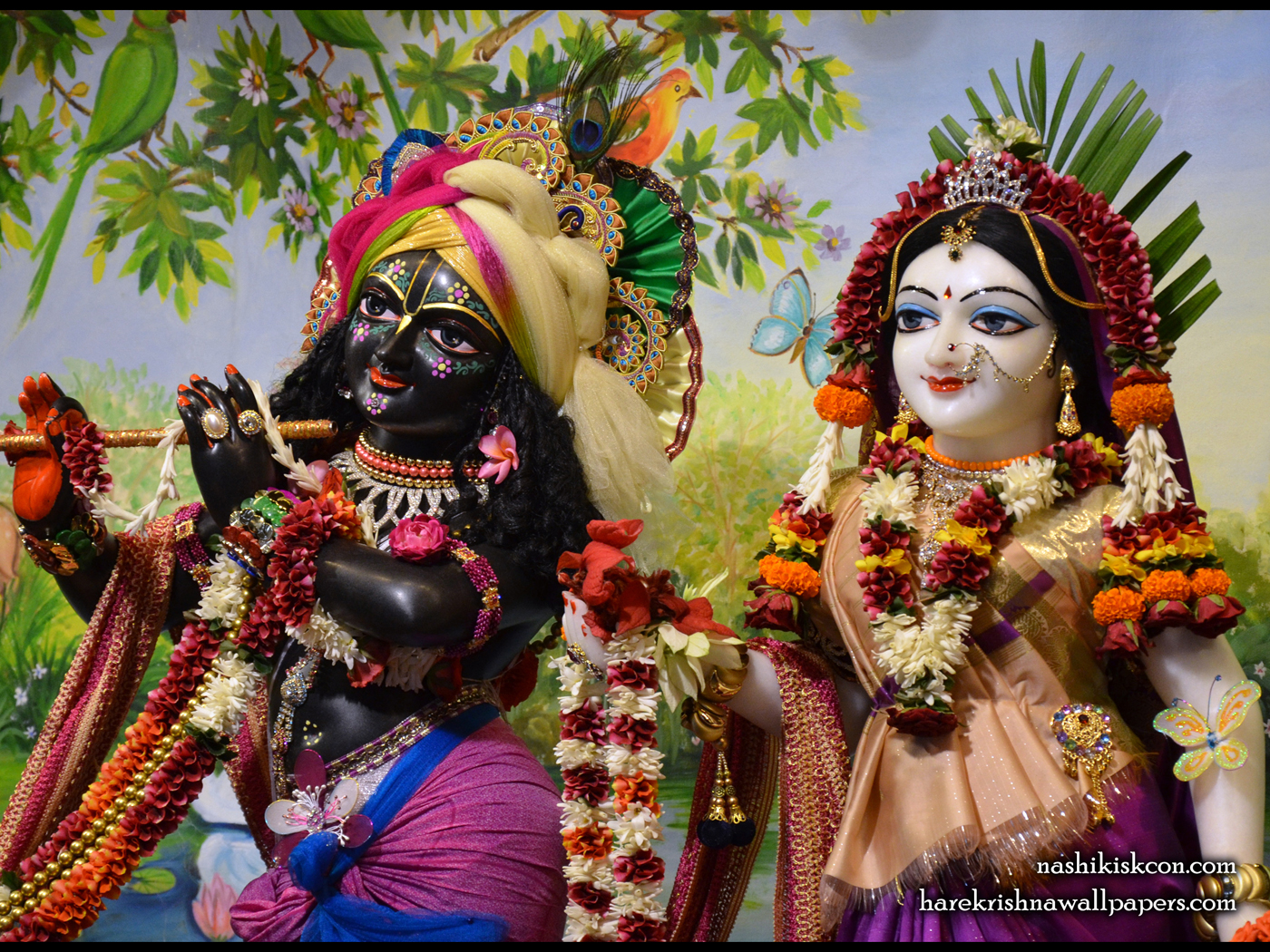 Sri Sri Radha Madan Gopal Close up Wallpaper (008) Size 1400x1050 Download