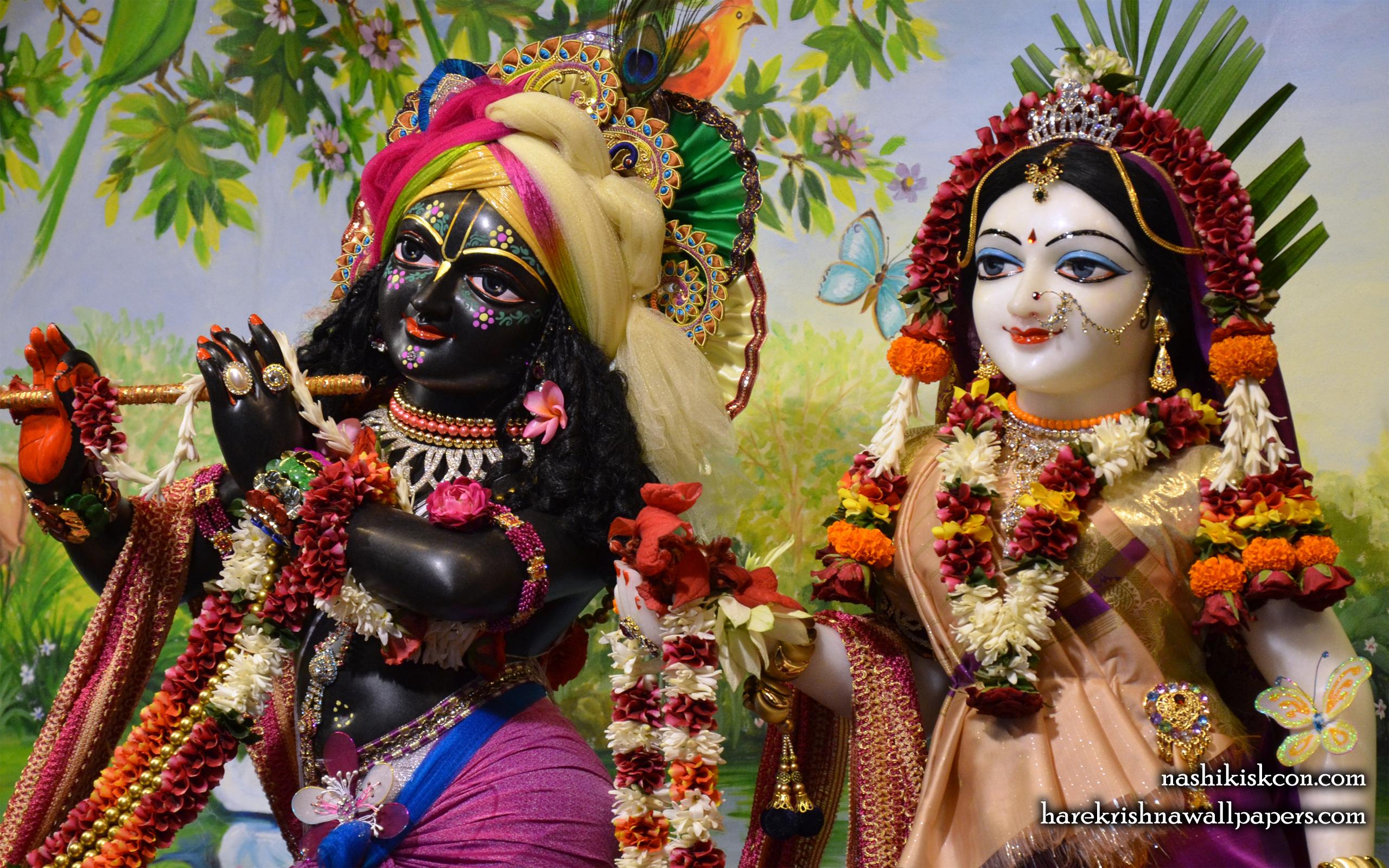 Sri Sri Radha Madan Gopal Close up Wallpaper (008) Size 2560x1600 Download