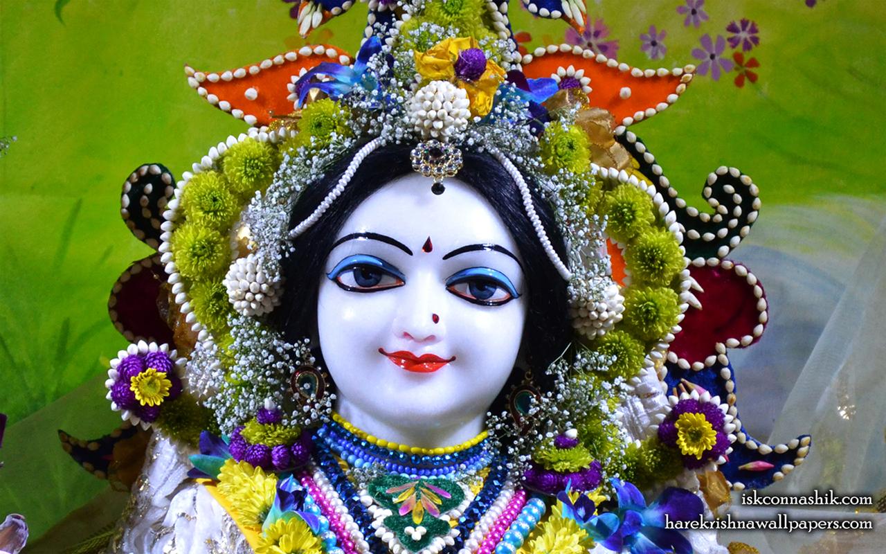 Sri Radha Close up Wallpaper (009) Size 1280x800 Download