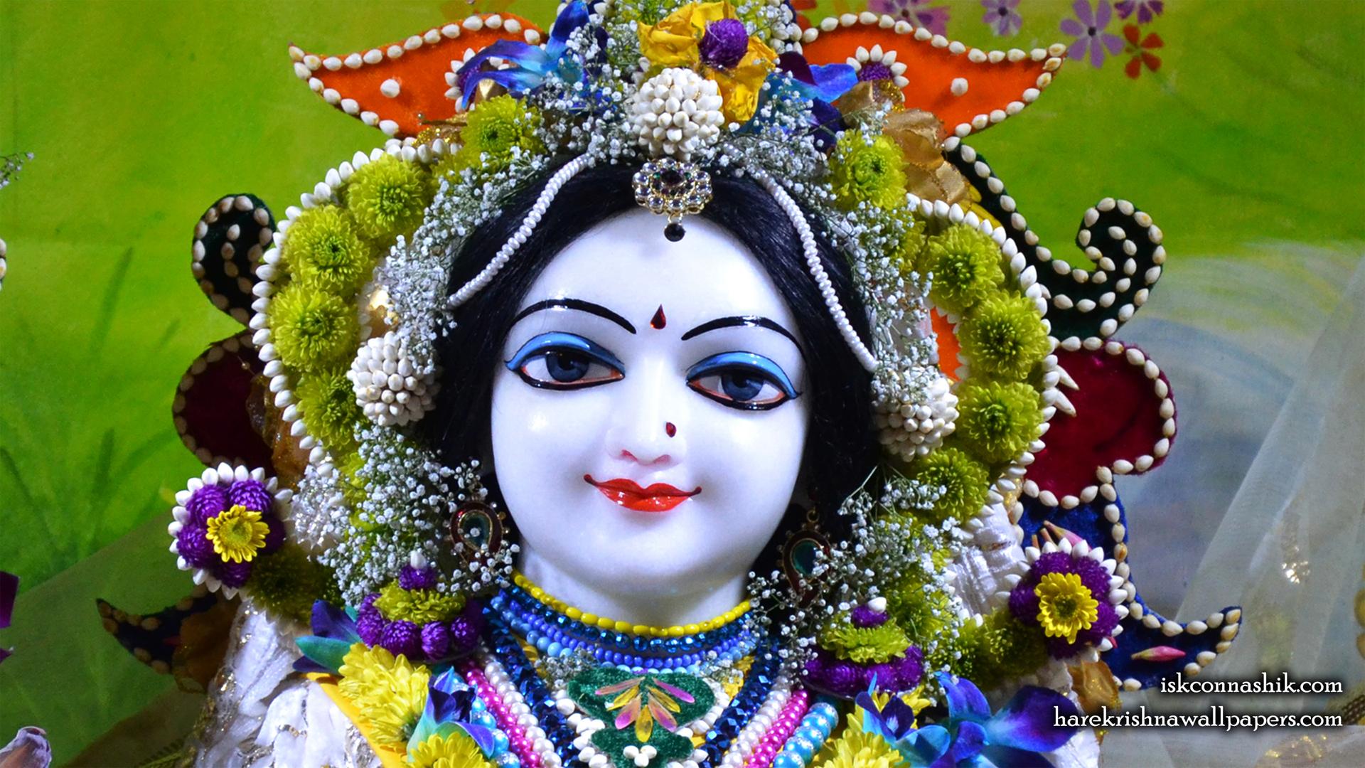 Sri Radha Close up Wallpaper (009) Size 1920x1080 Download