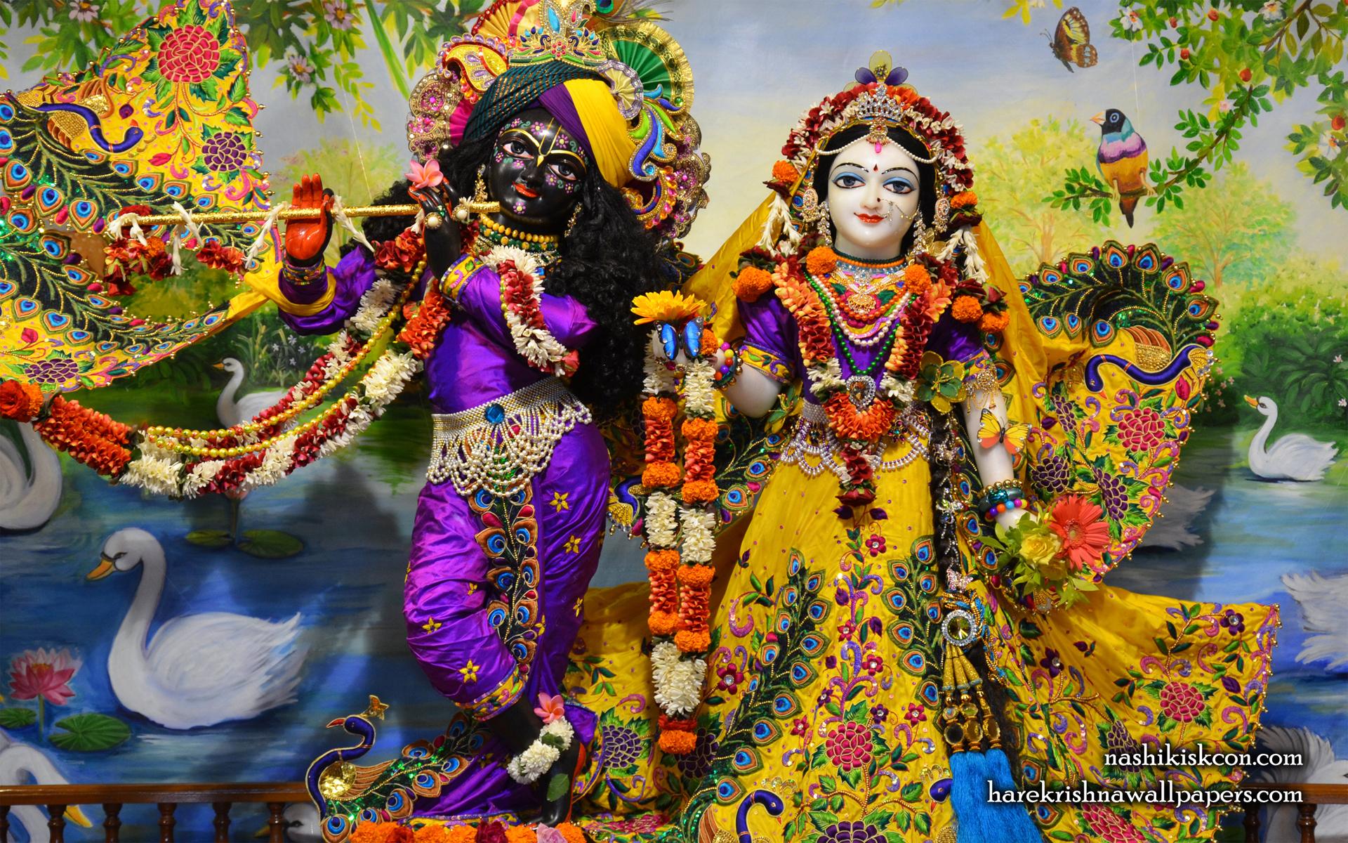 Sri Sri Radha Madan Gopal Wallpaper (009) Size 1920x1200 Download