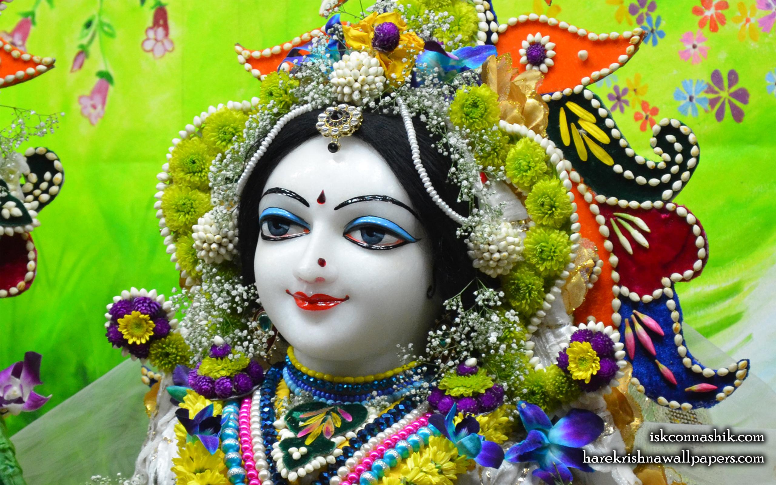 Sri Radha Close up Wallpaper (010) Size 2560x1600 Download