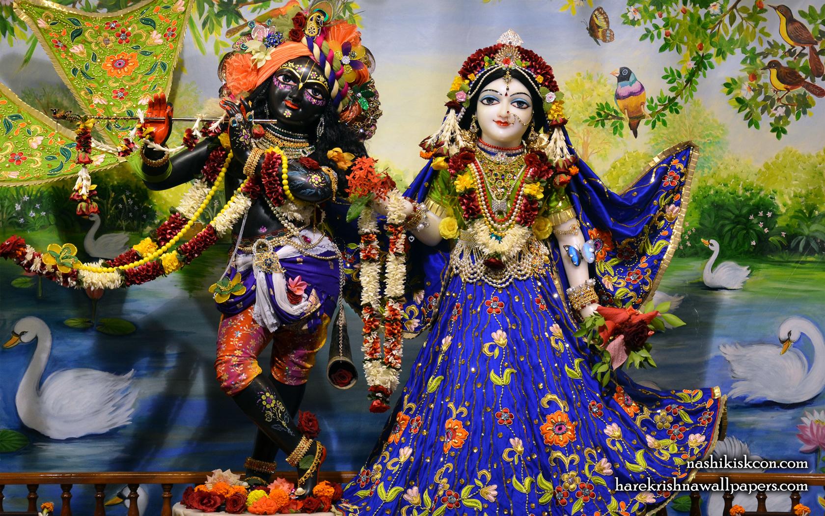 Sri Sri Radha Madan Gopal Wallpaper (010) Size 1680x1050 Download