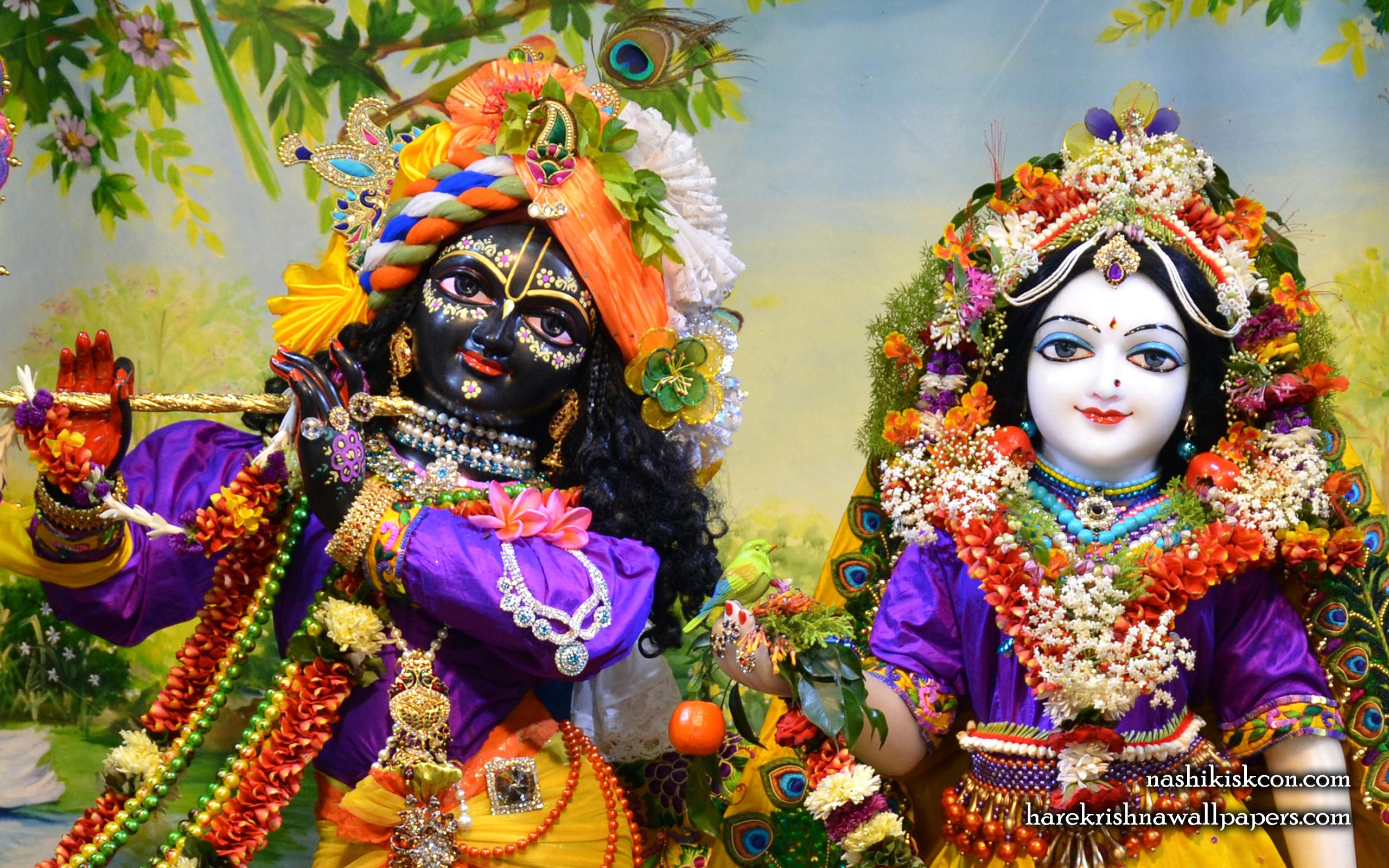 Sri Sri Radha Madan Gopal Close up Wallpaper (010) Size 2560x1600 Download