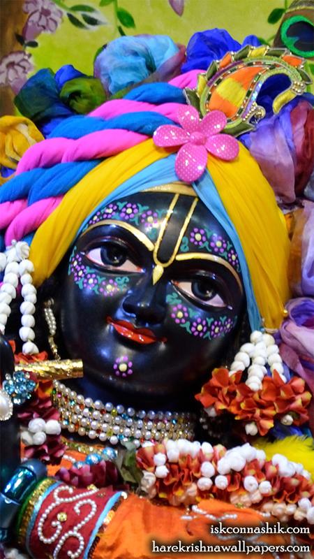 Sri Madan Gopal Close up Wallpaper (011) Size 450x800 Download