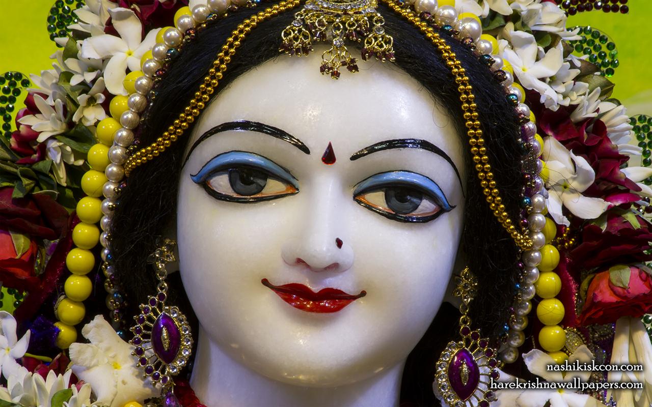 Sri Radha Close up Wallpaper (011) Size 1280x800 Download