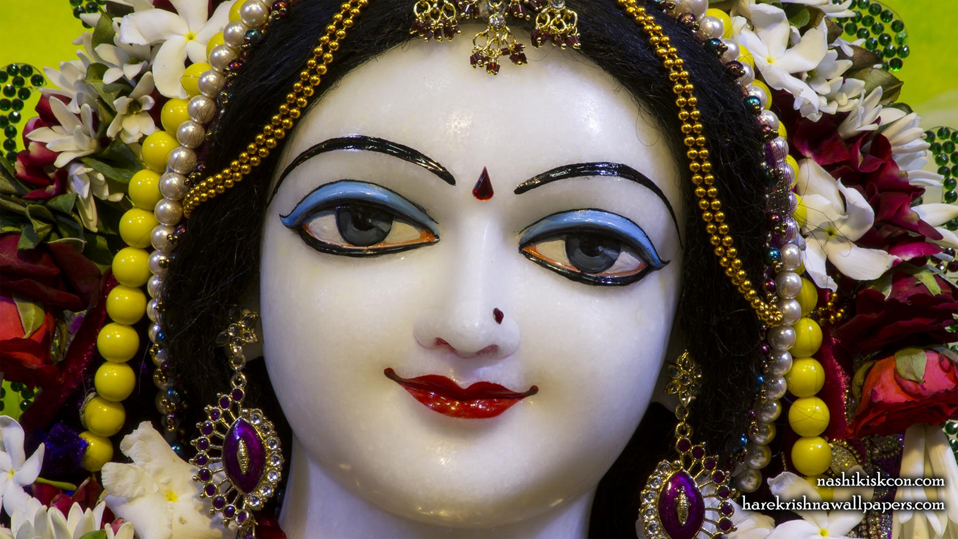 Sri Radha Close up Wallpaper (011) Size 1920x1080 Download