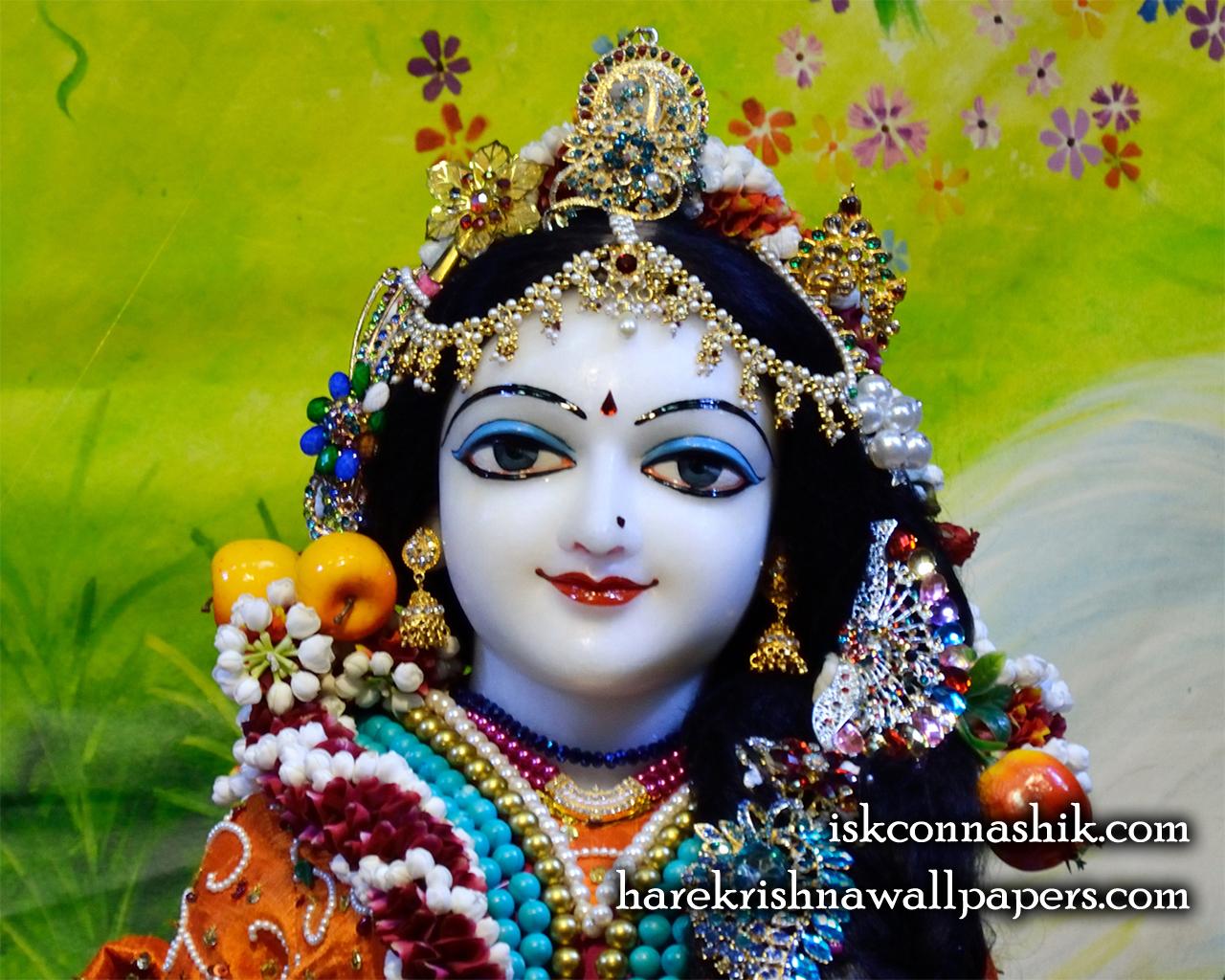 Sri Radha Close up Wallpaper (012) Size 1280x1024 Download