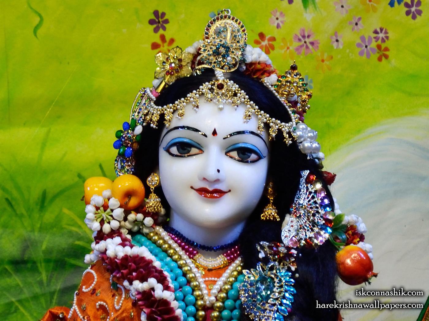 Sri Radha Close up Wallpaper (012) Size 1400x1050 Download