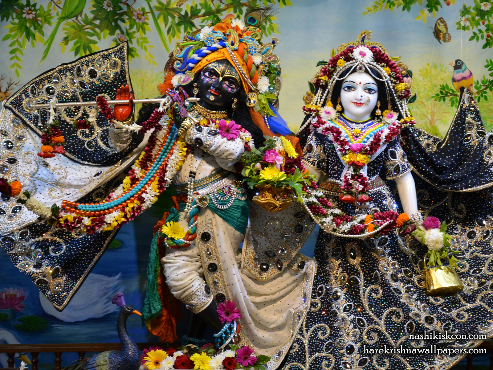 Sri Sri Radha Madan Gopal Wallpaper (012) Size1600x1200 Download