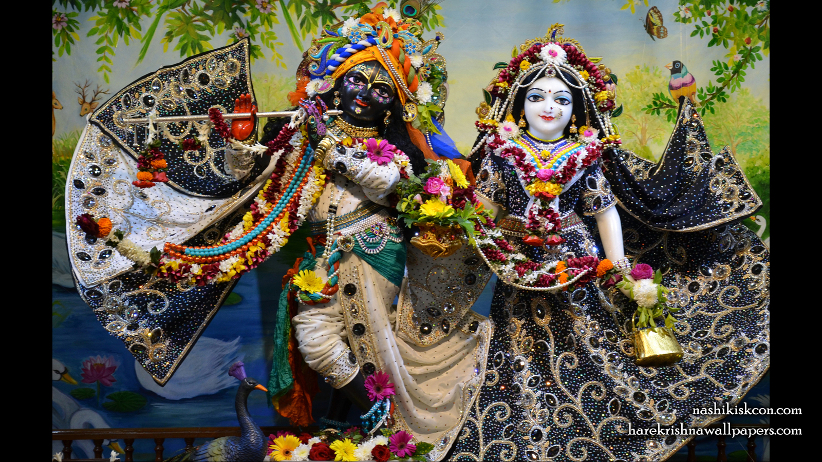 Sri Sri Radha Madan Gopal Wallpaper (012) Size 1600x900 Download