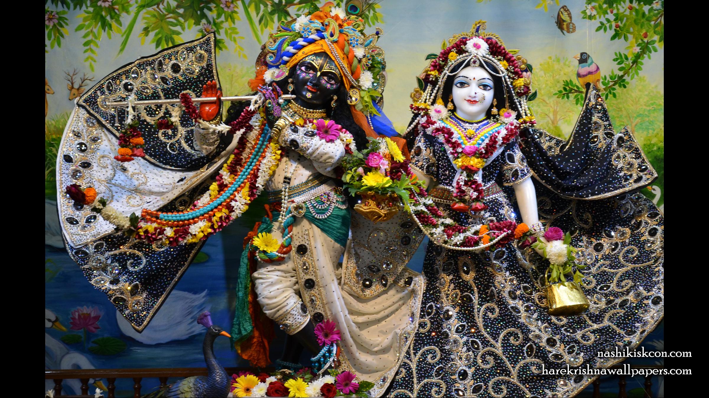 Sri Sri Radha Madan Gopal Wallpaper (012) Size 2400x1350 Download