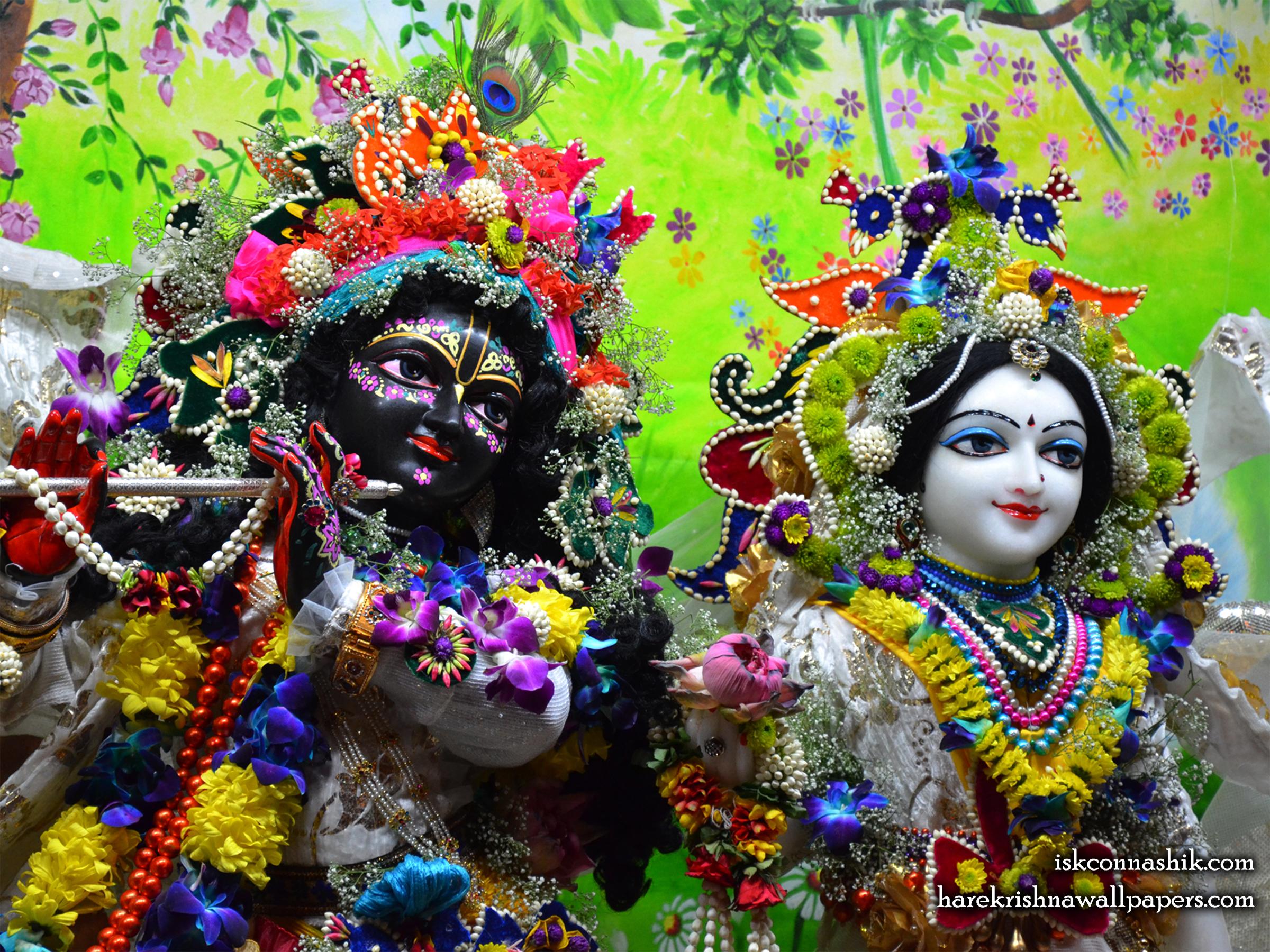 Sri Sri Radha Madan Gopal Close up Wallpaper (012) Size 2400x1800 Download