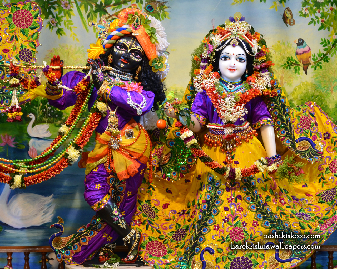 Sri Sri Radha Madan Gopal Wallpaper (013) Size 1280x1024 Download