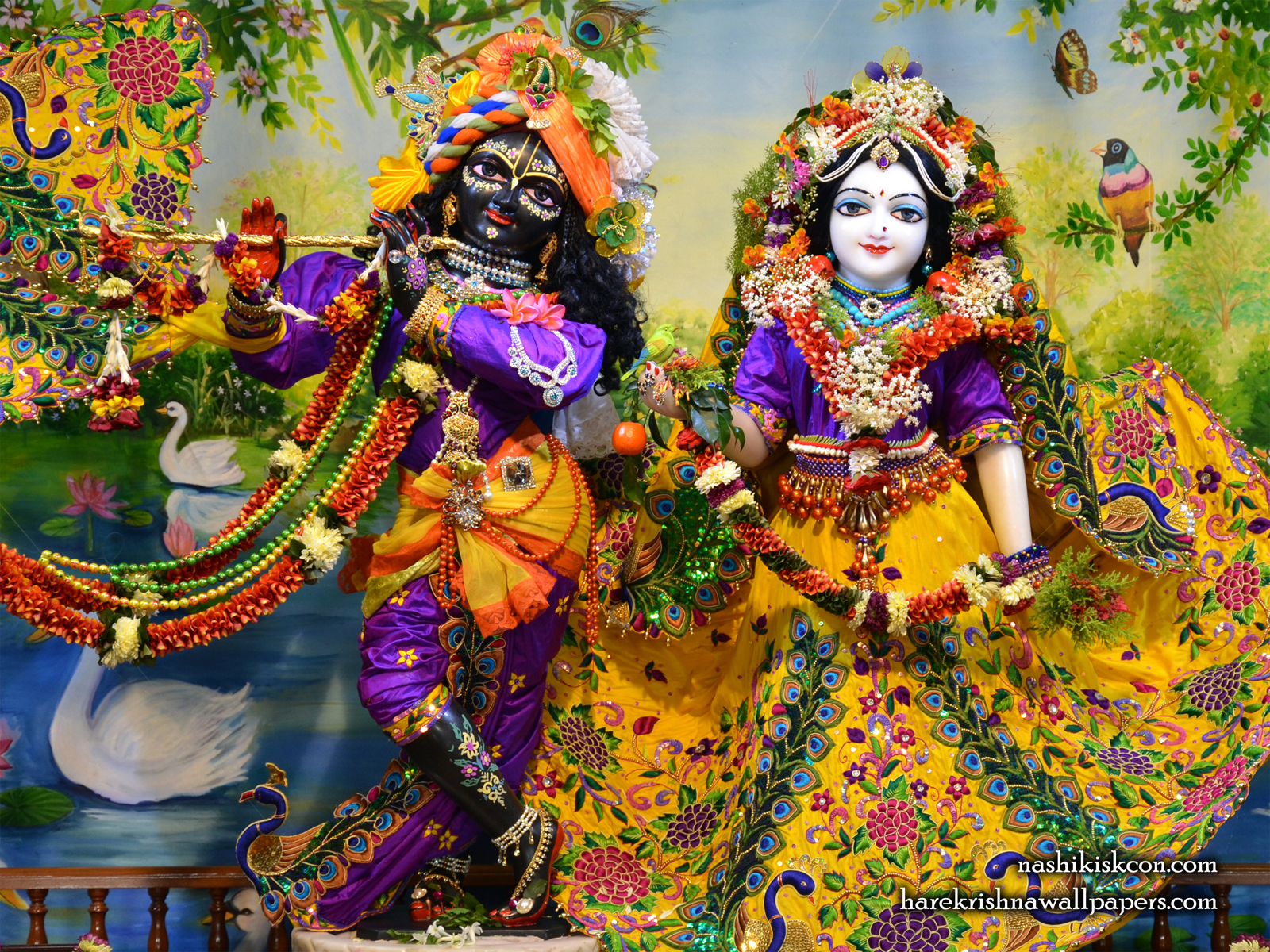 Sri Sri Radha Madan Gopal Wallpaper (013) Size1600x1200 Download