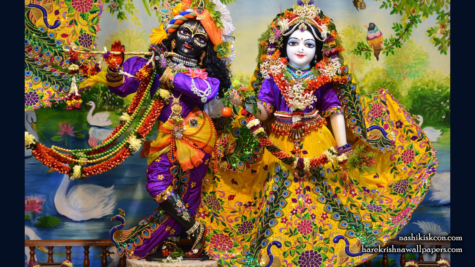 Sri Sri Radha Madan Gopal Wallpaper (013) Size 1600x900 Download