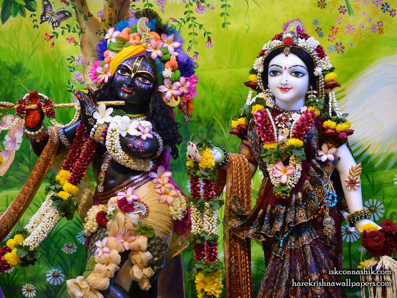 Sri Sri Radha Madan Gopal Close up Wallpaper (013) Size 1280x960 Download