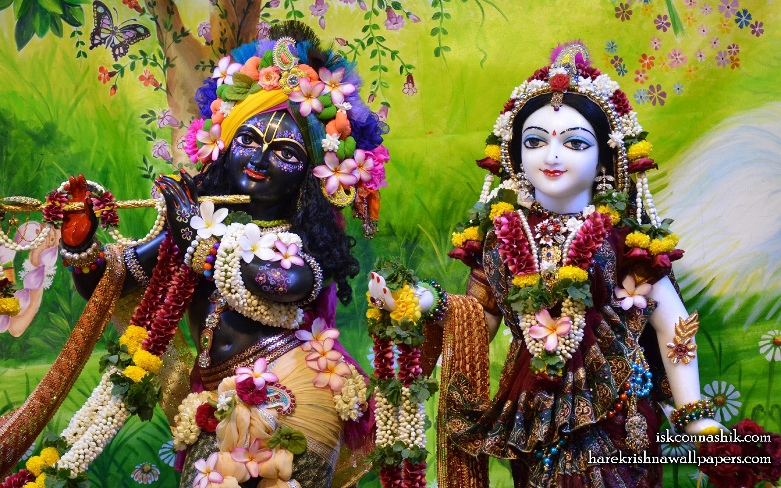 Sri Sri Radha Madan Gopal Close up Wallpaper (013) Size 2560x1600 Download