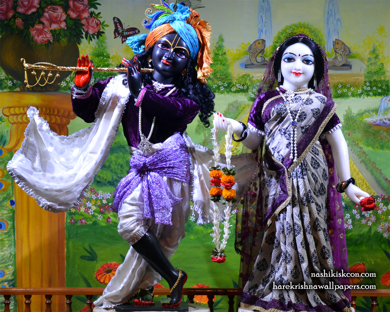 Sri Sri Radha Madan Gopal Wallpaper (014) Size 1280x1024 Download