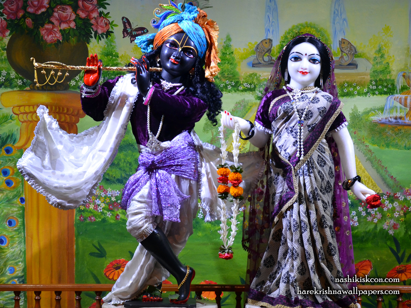 Sri Sri Radha Madan Gopal Wallpaper (014) Size 1400x1050 Download