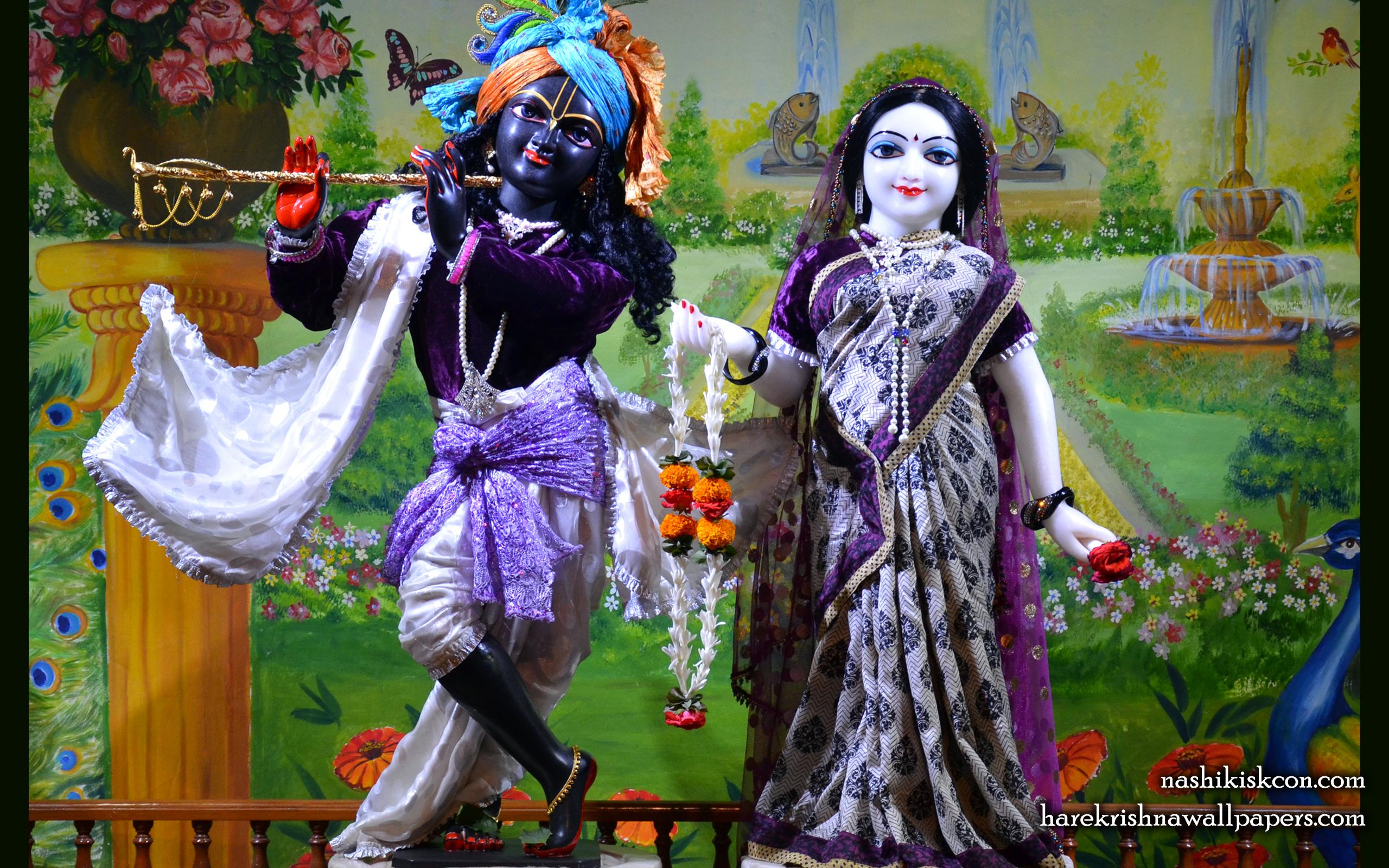 Sri Sri Radha Madan Gopal Wallpaper (014) Size 2560x1600 Download