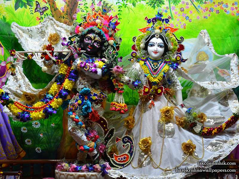 Sri Sri Radha Madan Gopal Wallpaper (015)