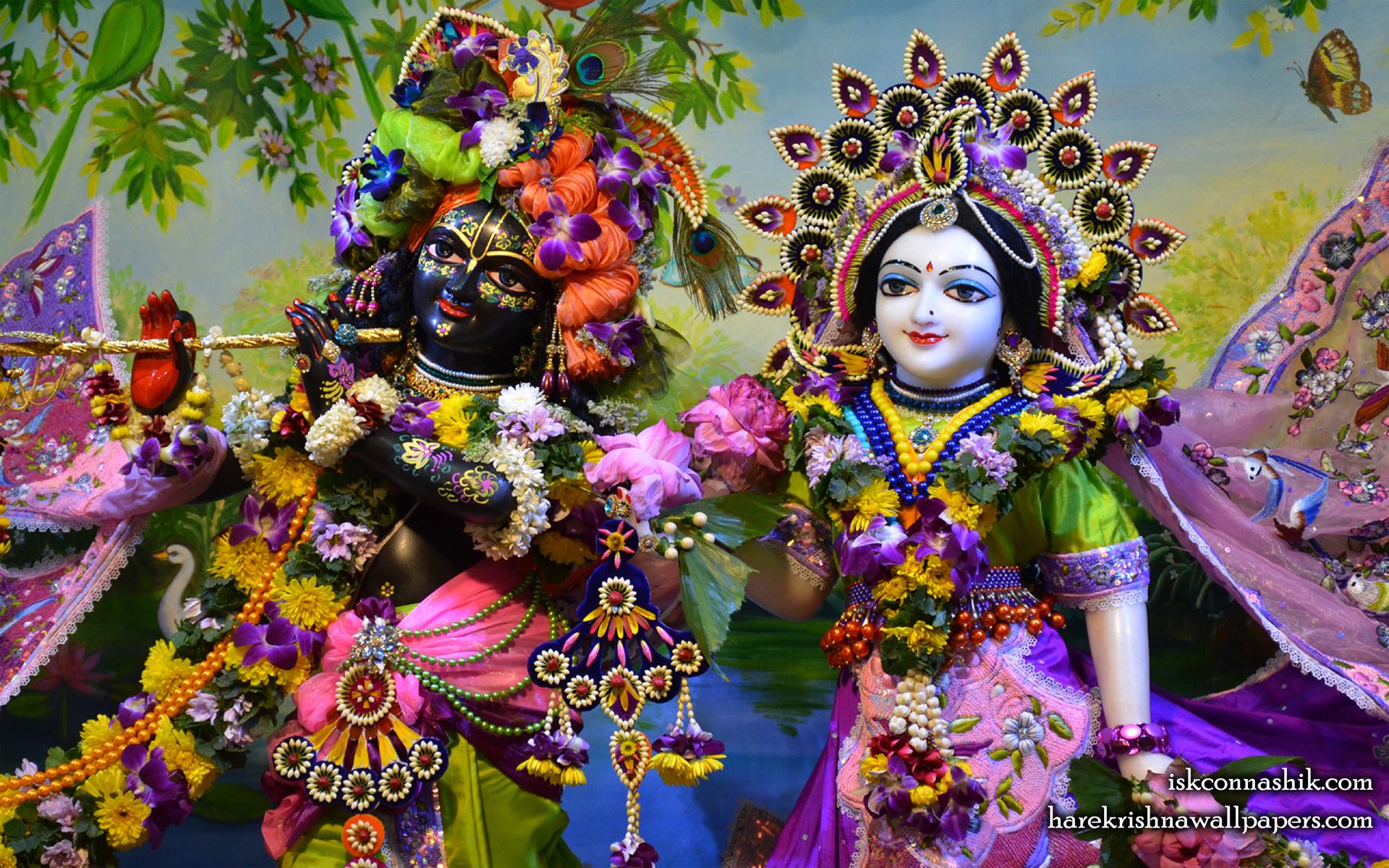 Sri Sri Radha Madan Gopal Close up Wallpaper (016) Size 1920x1200 Download