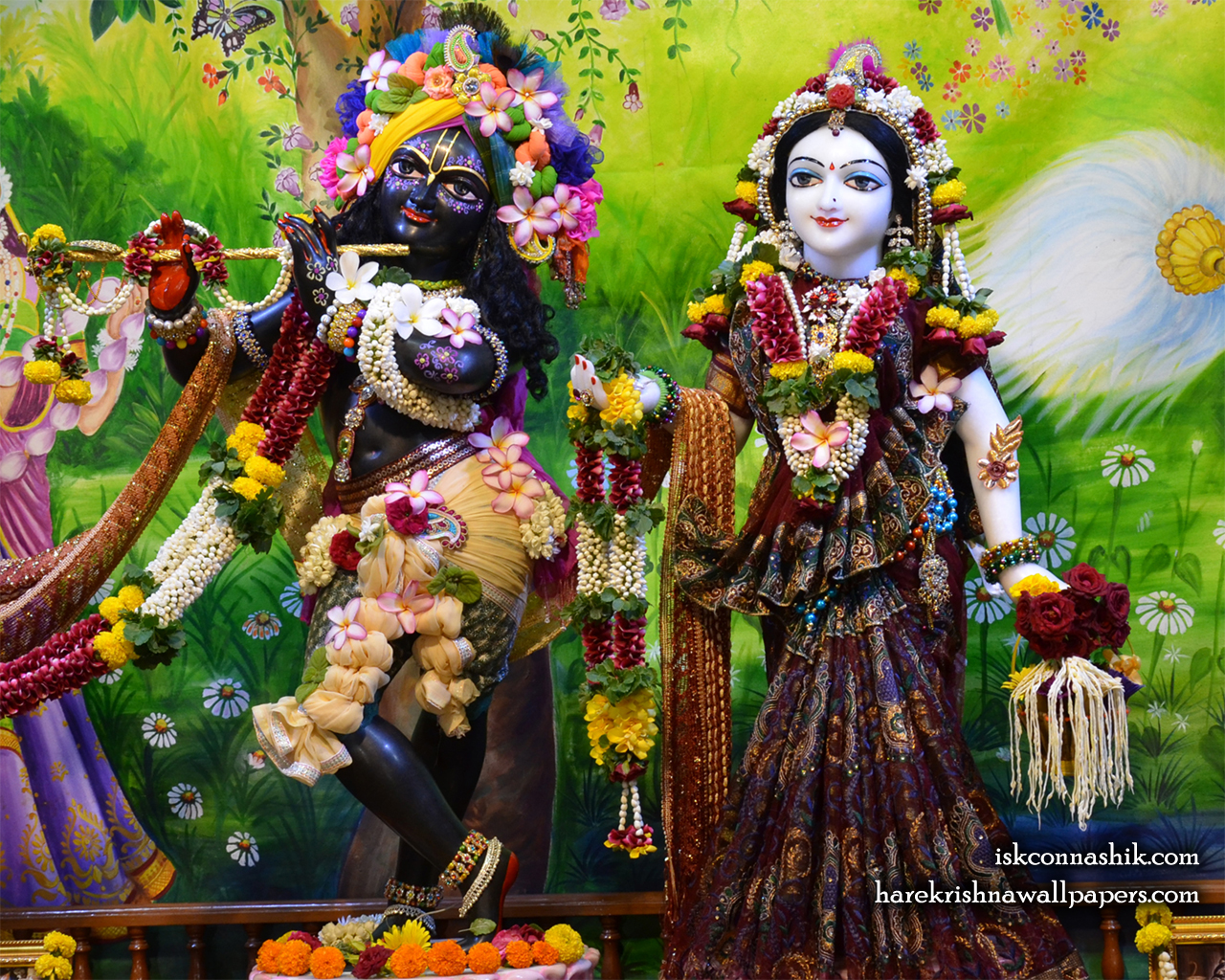Sri Sri Radha Madan Gopal Wallpaper (017) Size 1280x1024 Download