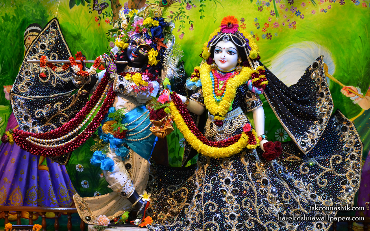 Sri Sri Radha Madan Gopal Wallpaper (019) Size 1280x800 Download