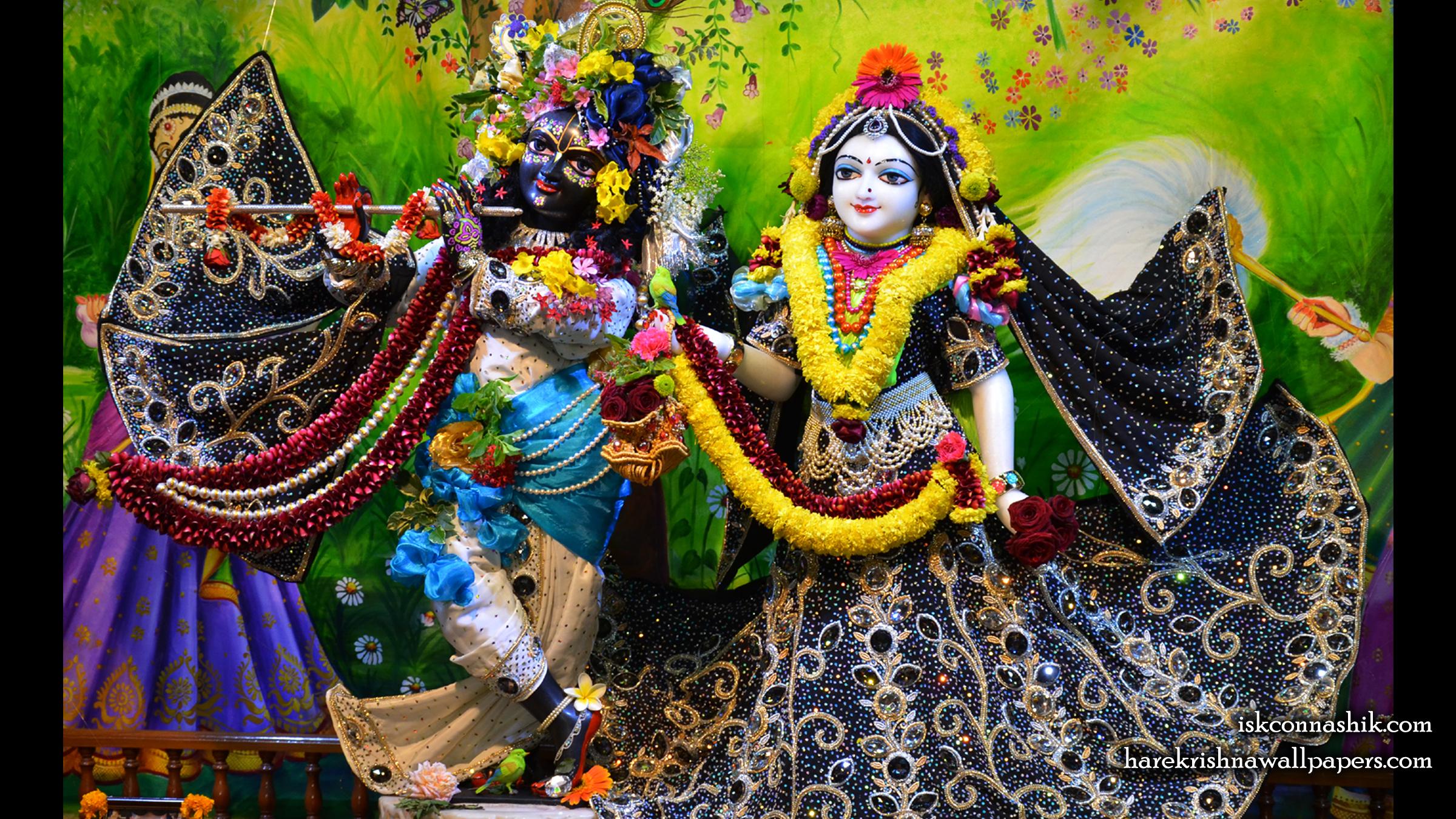 Sri Sri Radha Madan Gopal Wallpaper (019) Size 2400x1350 Download