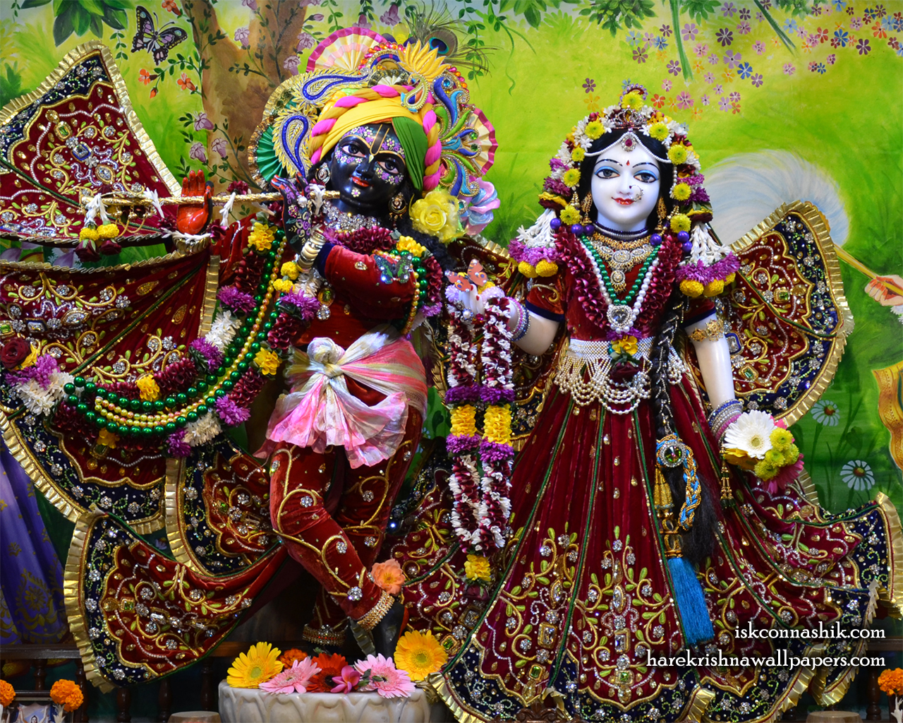 Sri Sri Radha Madan Gopal Wallpaper (020) Size 1280x1024 Download