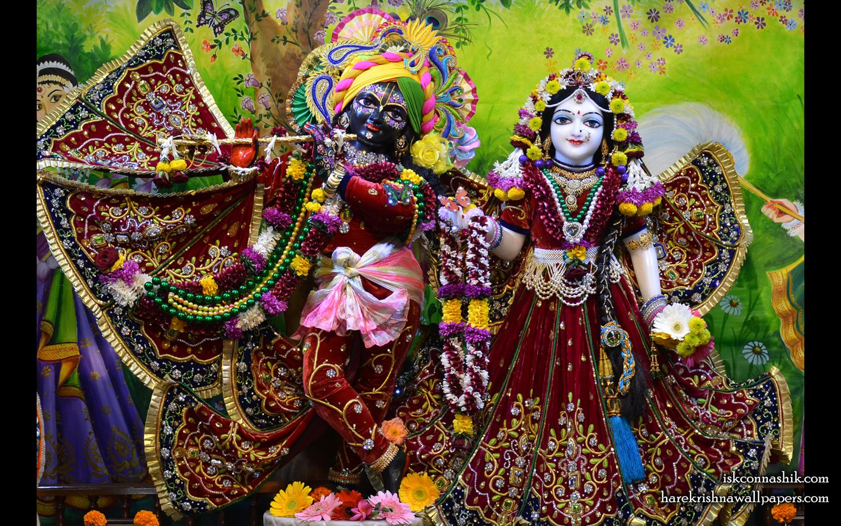 Sri Sri Radha Madan Gopal Wallpaper (020) Size 1680x1050 Download