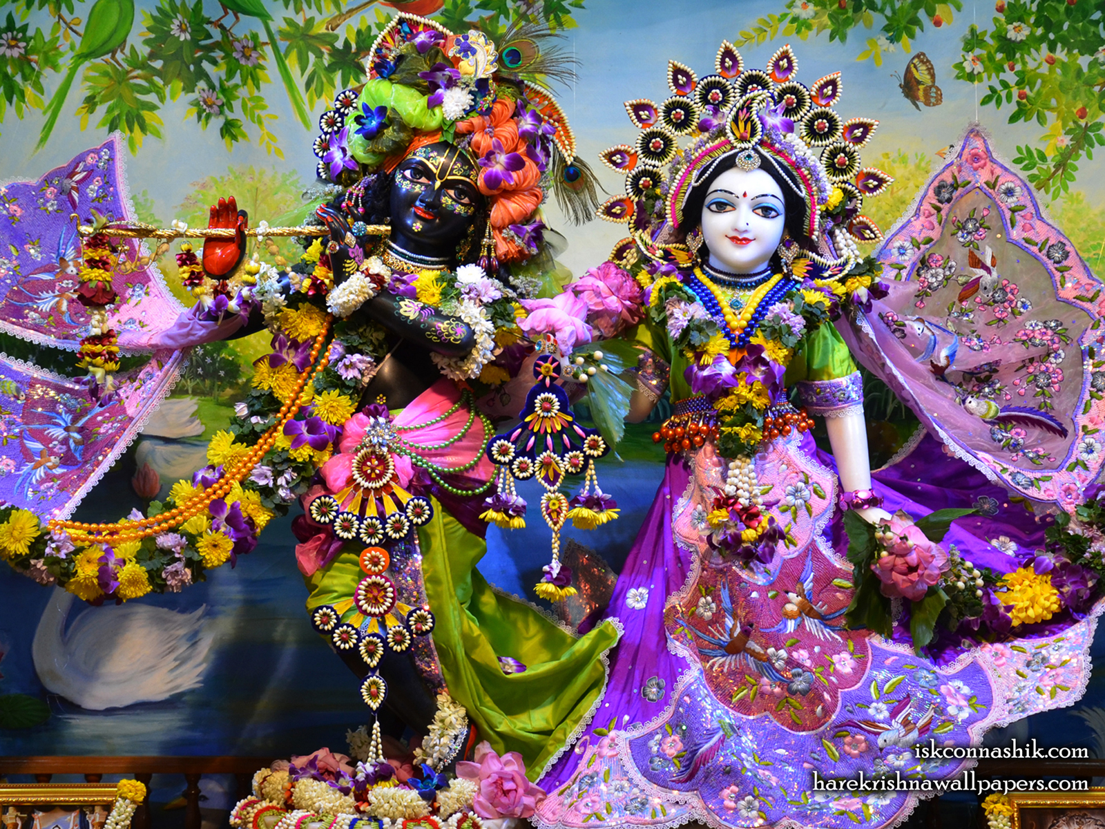 Sri Sri Radha Madan Gopal Wallpaper (021) Size1600x1200 Download