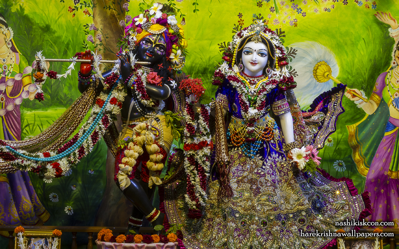 Sri Sri Radha Madan Gopal Wallpaper (022) Size 1280x800 Download
