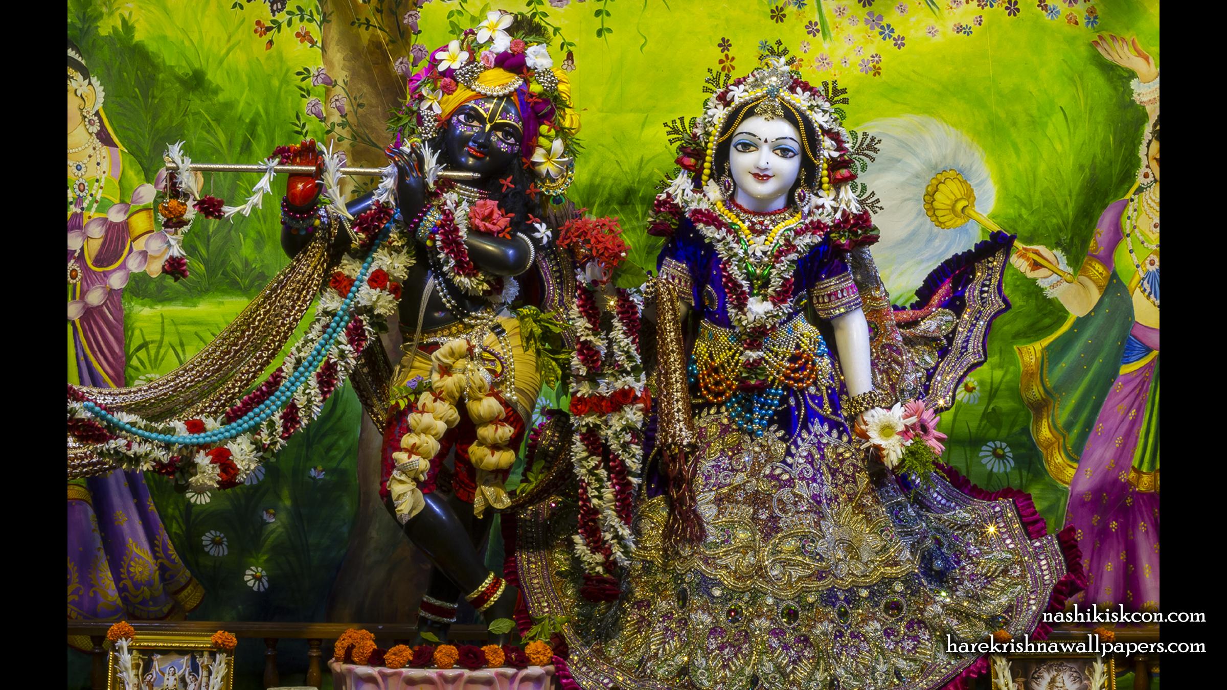 Sri Sri Radha Madan Gopal Wallpaper (022) Size 2400x1350 Download