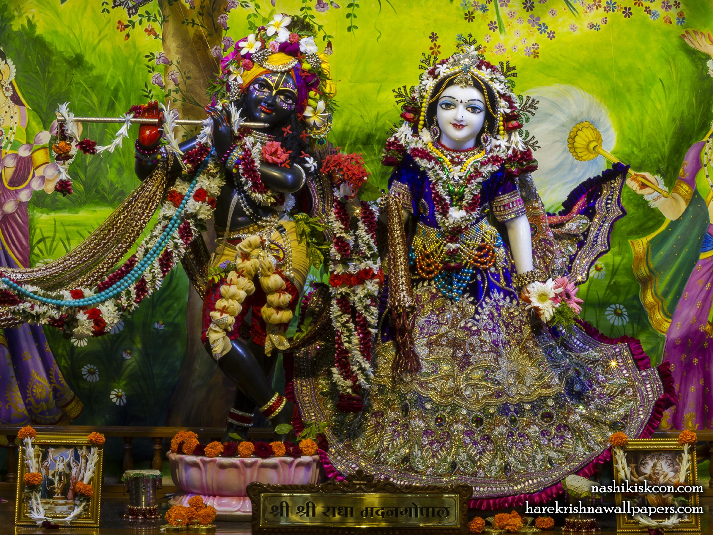 Sri Sri Radha Madan Gopal Wallpaper (022) Size 2400x1800 Download