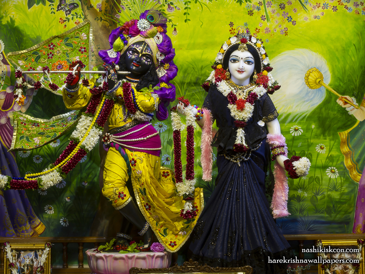 Sri Sri Radha Madan Gopal Wallpaper (023) Size 1280x960 Download