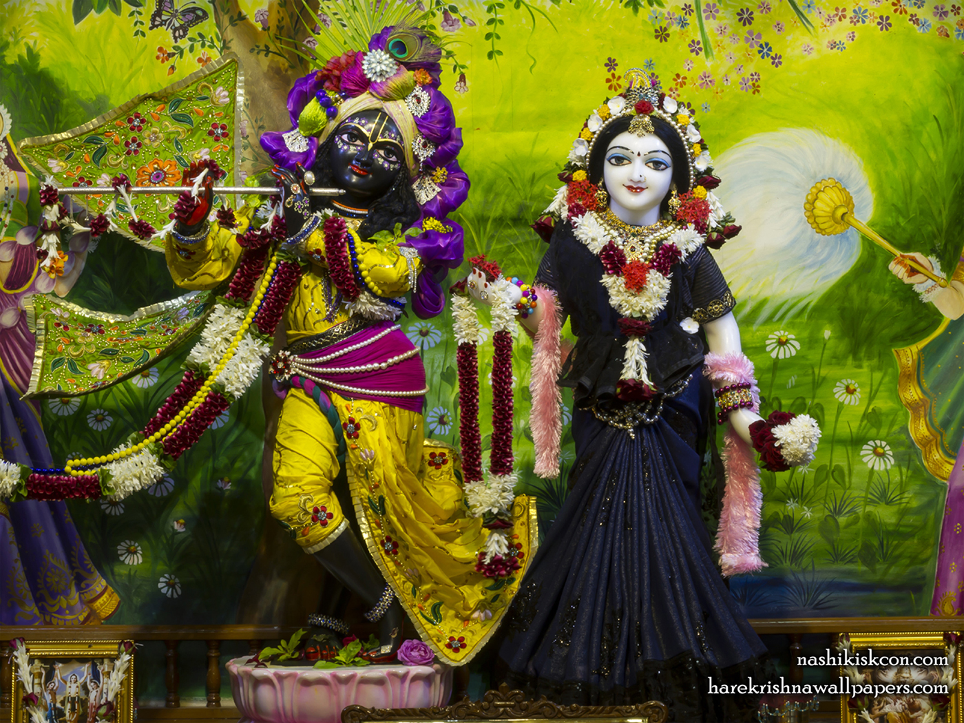 Sri Sri Radha Madan Gopal Wallpaper (023) Size 1400x1050 Download