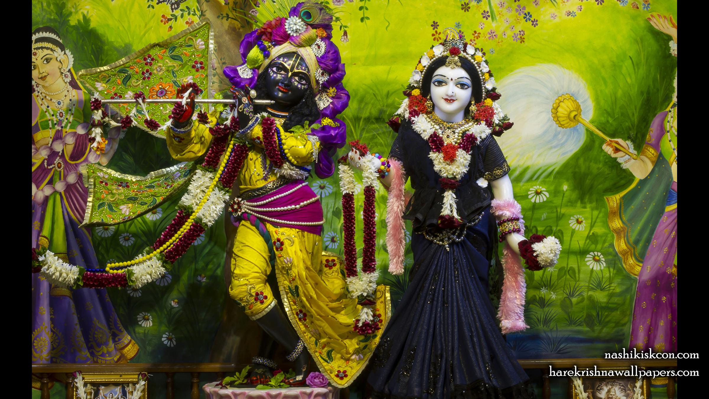 Sri Sri Radha Madan Gopal Wallpaper (023) Size 2400x1350 Download